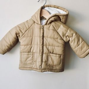GIFT THIS! Gymboree Beige Puffer Coat